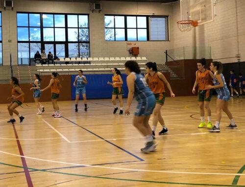 """Partit complet de l'""""Ergasia"""" CB Calella a la pista del cuer: 37-81 contra el Banyoles"""