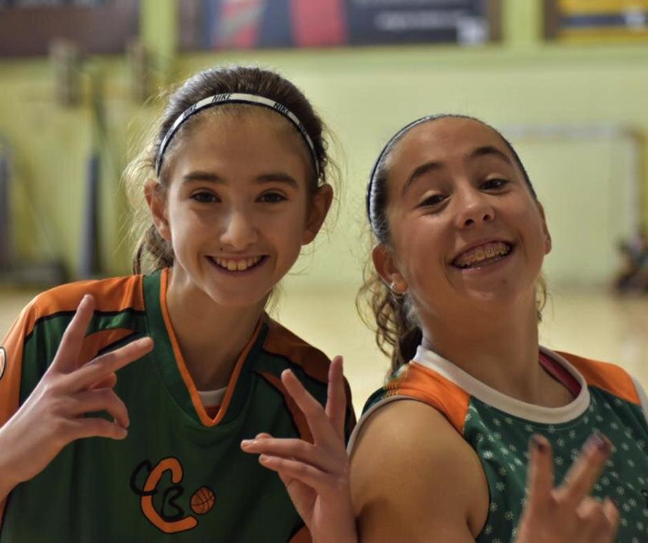 CB Calella - La Claire i l'Astrid