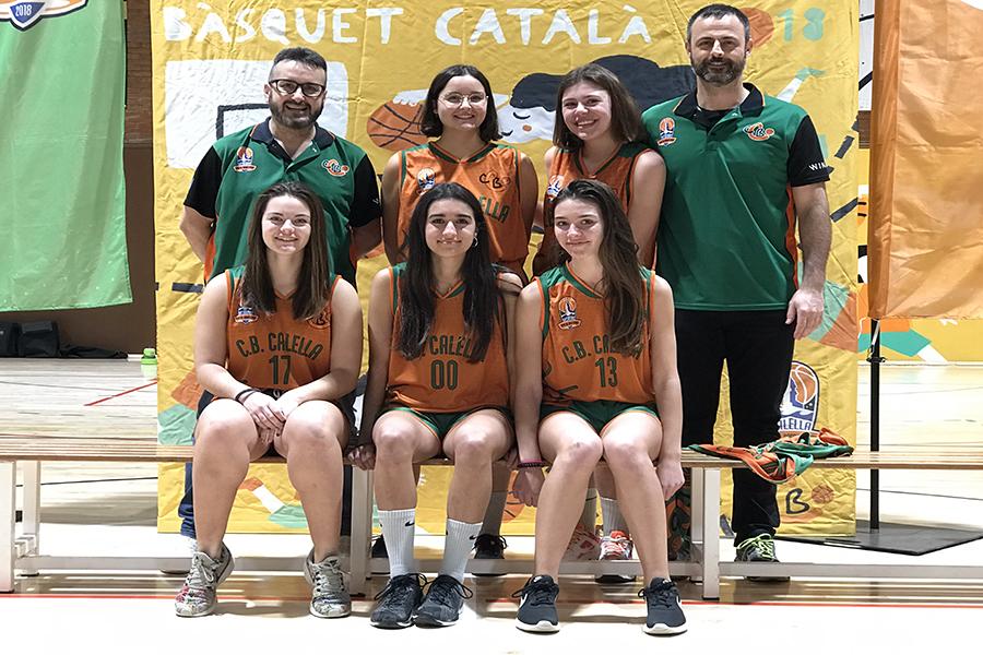 CB Calella - Temporada 2019-2020 Júnior