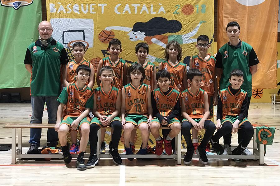 CB Calella - Temporada 2019-2020 Mini B