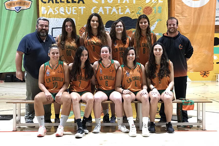 CB Calella - Sènior femení. Temporada 2019-2020