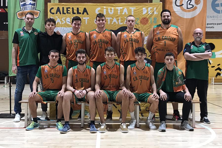 CB Calella - 2019-2020 Sènior