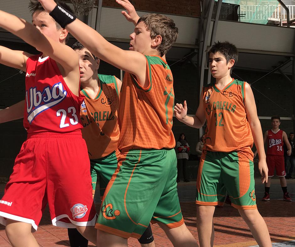 CB Calella - La lluita per la pilota