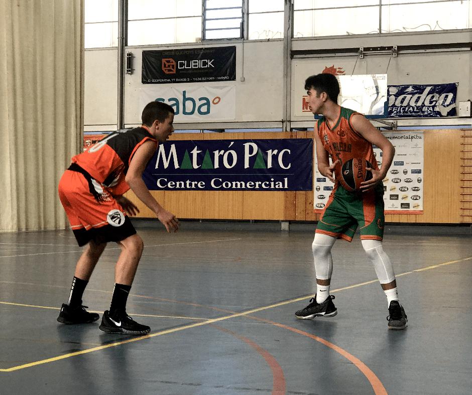 CB Calella - En Nil Pascual, un dels destacats amb 3 triples anotats