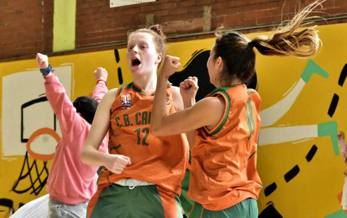 CB Calella - L'eufòria continguda per celebrar un triomf treballat. Foto: Esther Pujol