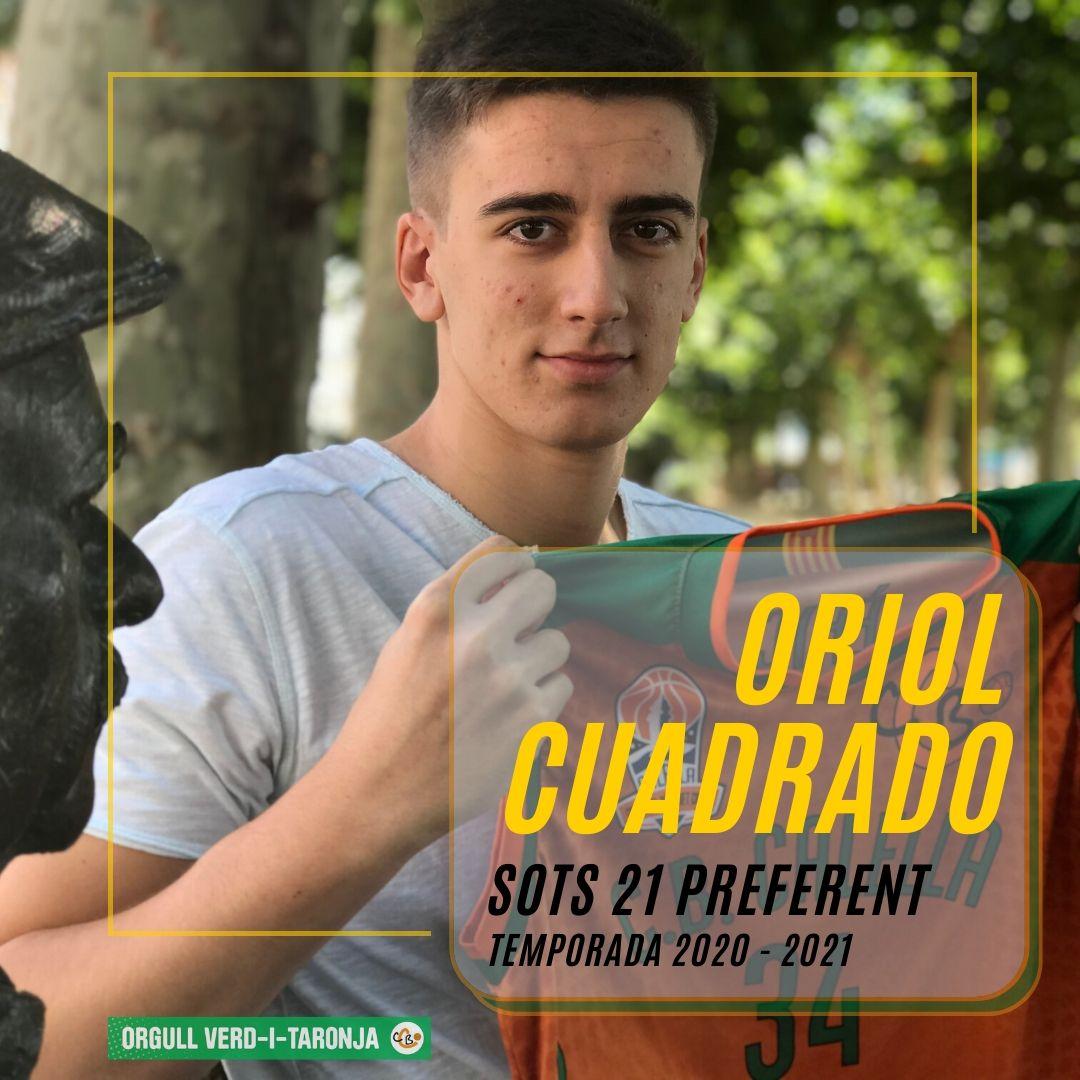 CB Calella - Oriol Cuadrado, el nou fitxatge del CB Calella per reforçar el sots 21 Preferent. Foto: CB Calella
