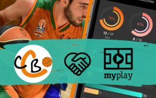 CB Calella - El CB Calella i la UEHC tanquem l'acord per disposar dels serveis de la plataforma MyPlay. Imatge: MyPlay - CB Calella