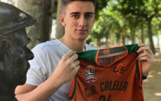 CB Calella - Oriol Cuadrado torna al CB Calella després de 7 anys fora. Foto: CB Calella