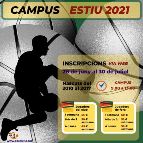 CB Calella - Campus Estiu 2021 Matins