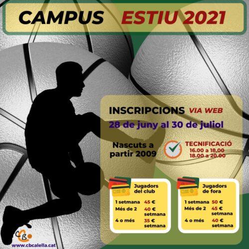 CB Calella - Campus Estiu 2021 Tardes