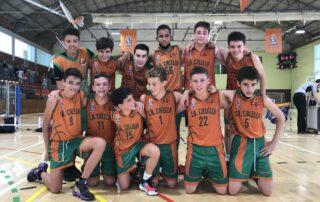 CB Calella - La foto de l'infantil campió de Lliga!