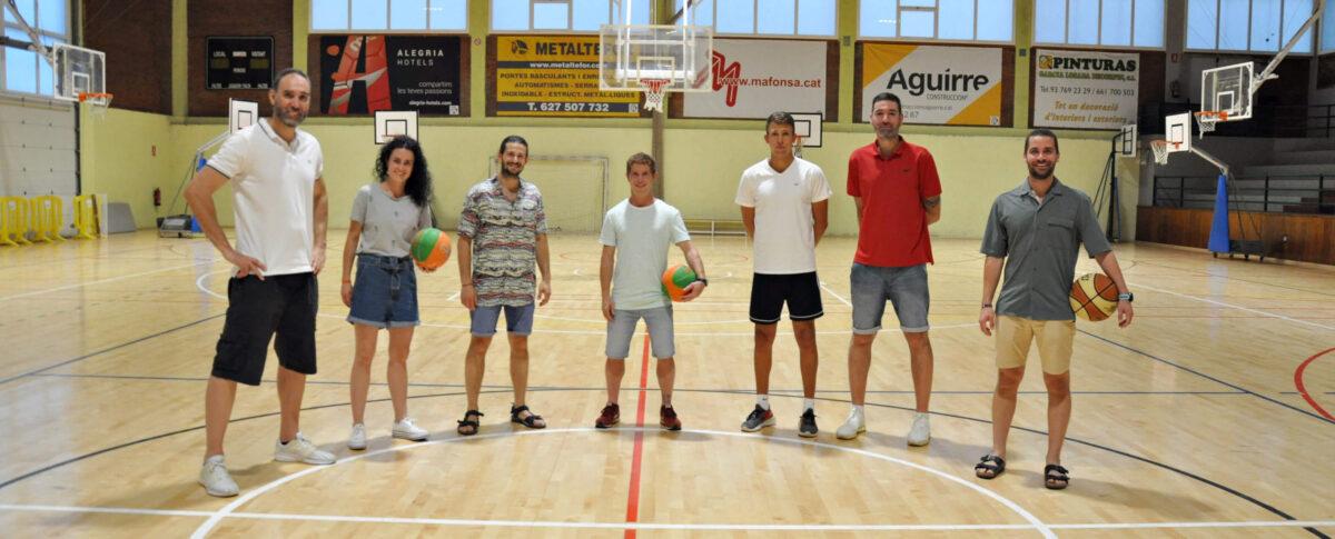 Nova Junta Club de Bàsquet Calella