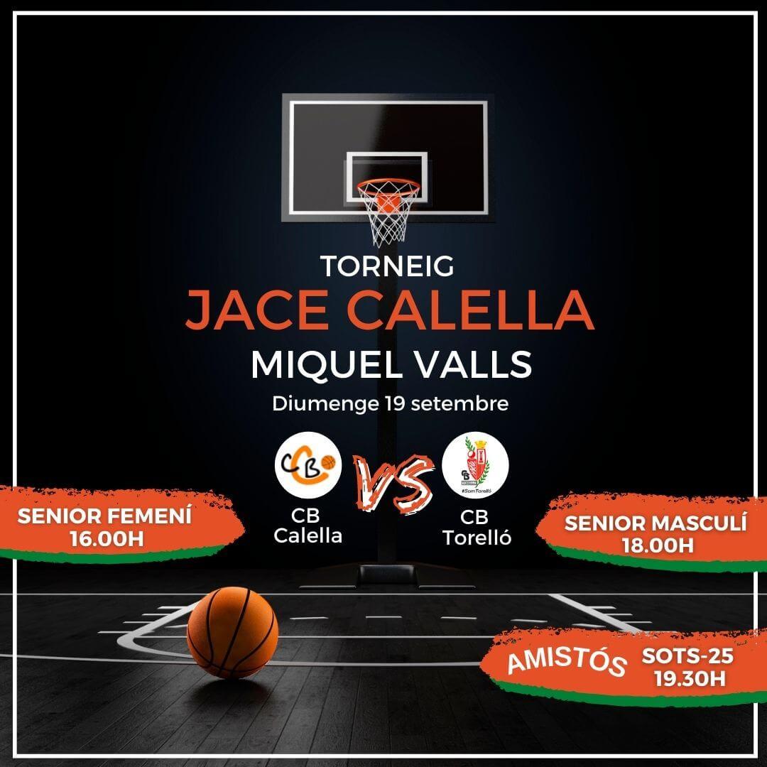 CB Calella Torneig JACE Calella MIquel Valls