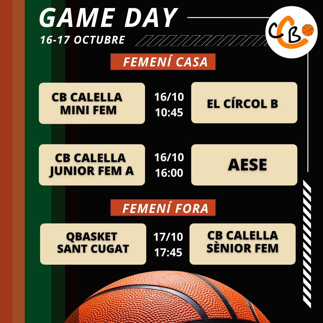 CB Calella - Graella Partits